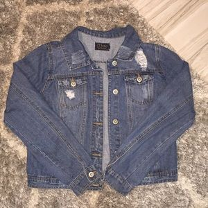 Medium Blue Denim Jean Jacket